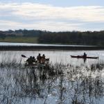 Kayak scoping tour on Bushells